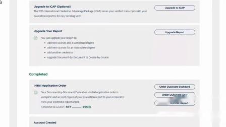 如何订购WES报告副本