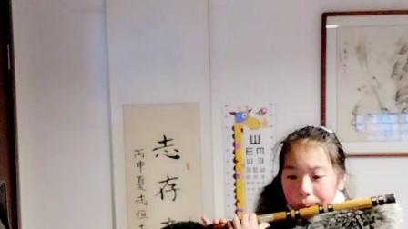 竹音堂学生演奏《到农村去》蔡敬民作曲