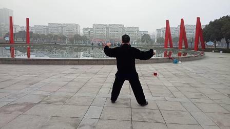 焦作市人民广场太极拳