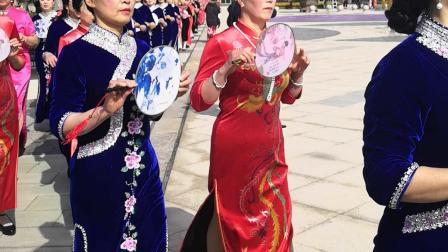 如皋花木城三八女神民族风味旗袍秀(32)