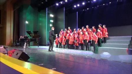 《A Ma Lei Ho》 (中国山歌合唱五首- 陈怡编) 霍洛韦童声合唱团18年冬季音乐会,卢长剑指挥