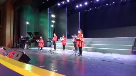 巴托克《求爱》,霍洛韦童声合唱团18年冬季音乐会,卢长剑指挥