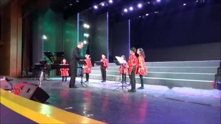 柯达伊,Esti Dal 《黄昏之歌》,霍洛韦童声合唱团18年冬季音乐会,卢长剑指挥