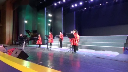 柯达伊,《在山顶上》,霍洛韦童声合唱团18年冬季音乐会,卢长剑指挥