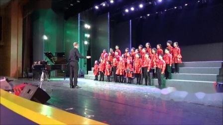 王立平(杨鸿年编),《大海啊!故乡》, 霍洛韦童声合唱团18年冬季音乐会,卢长剑指挥
