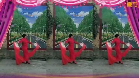 李庄秀芝广场舞【老百姓的好心情】长绸舞