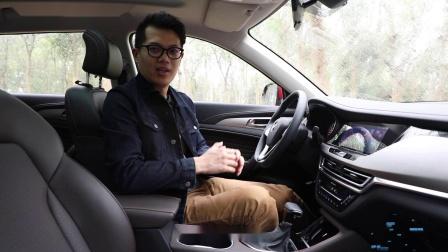 爱卡试车 长安小型SUV CS35 PLUS