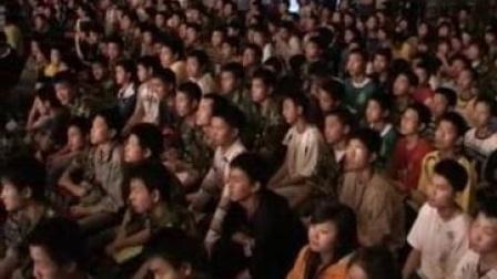 我在重庆长寿行知学校第一届模特大赛截取了一段小视频