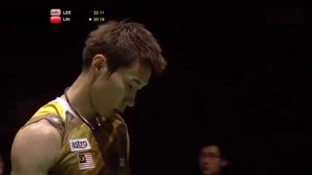 我在2011世锦赛决赛李宗伟vs林丹截了一段小视频