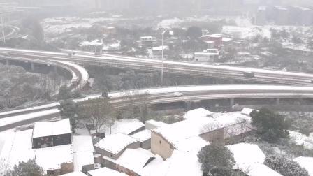 2018年末第一场雪 拍摄于株洲天元区