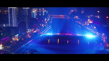 上饶信江大桥水秀宣传片-数虎图像