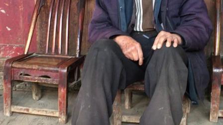 清坪镇比西坪村长寿长者周兴安96岁