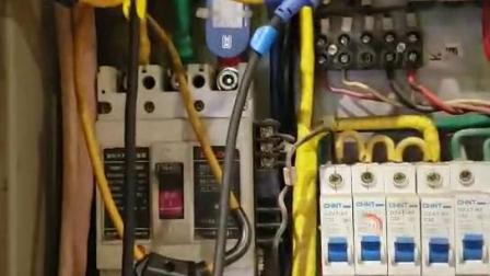 电加德在网吧安装检测现场