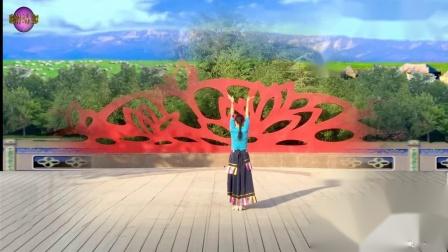 子龙广场舞获奖作品 《心上的罗加》舞蹈示范