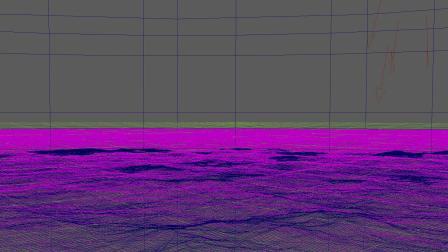 Maya 制作360°无限动态海面