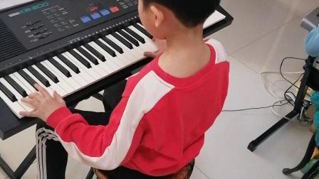《我和你》电子琴曲