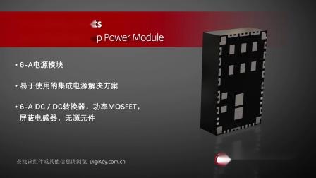 1分钟读懂 Texas Instruments LMZM33606 6安培电源模块