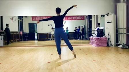 古典舞望春风课堂分解动作一,阜阳艺路舞蹈提供