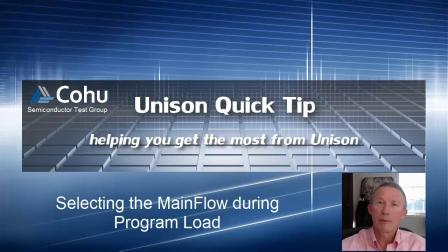 Selecting MainFlow at Program Load Time