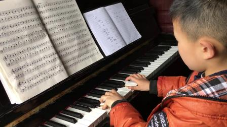 黄子涵钢琴曲变化练习2