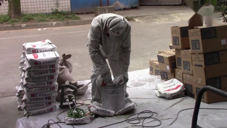 立邦聚氨酯砂浆案例--成都享口福食品厂
