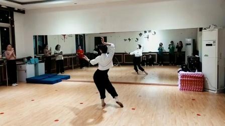 古典舞望春风课堂分解动作二,阜阳艺路舞蹈提供