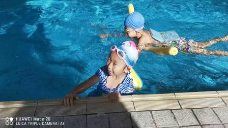 20190331宝贝练游泳