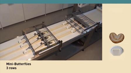 RONDO瑞士龙都:蝴蝶酥自动成形生产线 Palmier