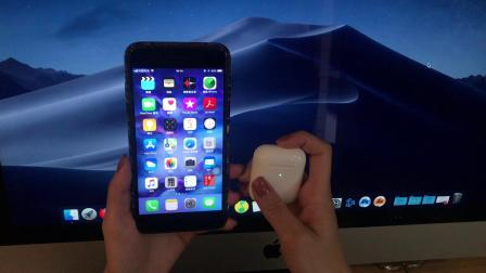 Apple 苹果新款 AirPods 无线版本 【开箱】【写真】【ios、macOS、Windows10各系统下连接速度实拍】 【优缺点 购买建议】