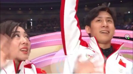 皇者归来,隋文静,韩聪夺得双人花样滑冰世界锦标赛冠军片段