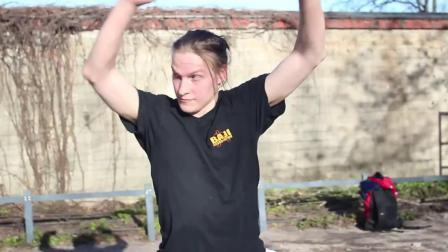 Youtube-八极拳劈挂掌-2