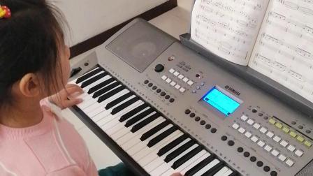 《春晓》电子琴曲