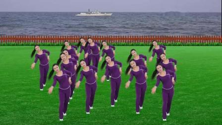 变形抠像舞蹈演示《南泥湾》.mp4