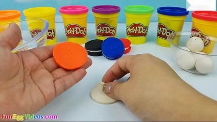 幼儿通过玩彩虹饼干学习颜色如何制作