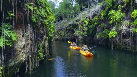 天然井绿洲玛雅之旅