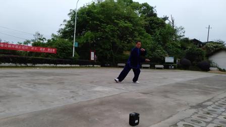 杨式40式太极拳,会昌蓝天