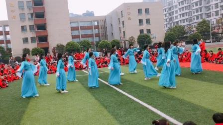 欧蒙幼儿园梦回唐朝教师舞蹈