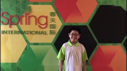 春天国际学院2019S-AEIS成功考取学生感言