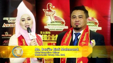 第14届得奖者分享: Rashwealth Group Sdn Bhd
