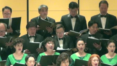《赞美新中国》2019.4.13,指挥:姚家杰,伴奏:王兆兴