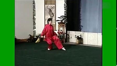 我在49式武当太极剑教学演示带口令(流畅)_高清_1截了一段小视频