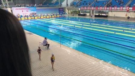 庄文游泳2019深圳市后备人才选拔赛第一站50米自由泳冠军