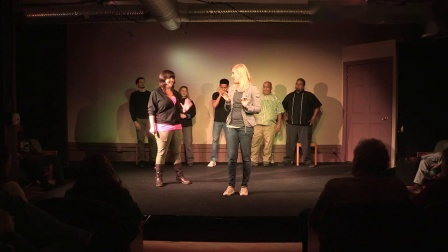 Cage-Free Humans performs The Harold (Improv) 02 13 2015