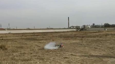亚拓700xn磨合后简单试飞视频