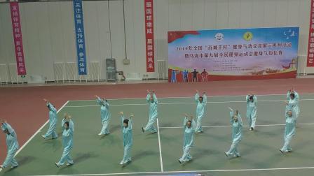 海南老年体协第二队气功  马王堆  比赛