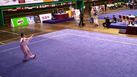 第12届世界武术锦标赛女子太极拳冠军 - 庄莹莹