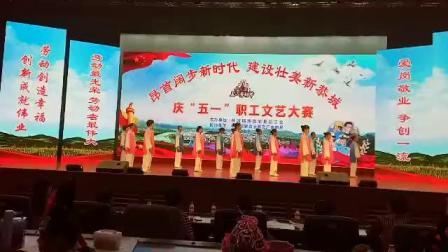 """2019年庆""""五一""""职工文艺大赛,老年大学太极队八法五步表演!"""