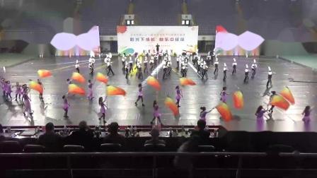 北京市第二十一届学生艺术节行进管乐展演~望京实验~《鼓动的青春》