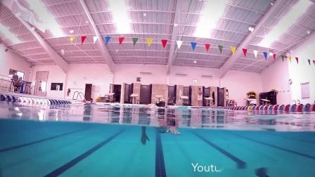 F-通过肩部转动,让自由泳游的更顺畅、呼吸更轻松