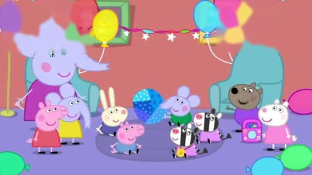 我在大象艾蒙德的生日截了一段小视频